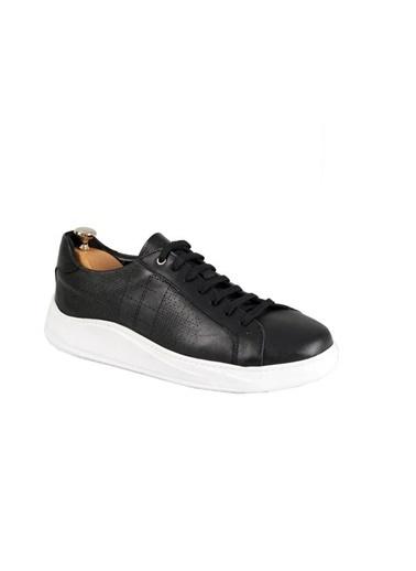 Tripy Hakiki Deri Sneakers Siyah